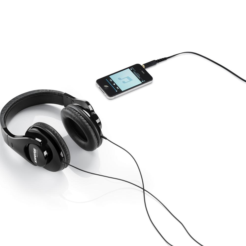 Shure SRH240A Professional Quality DJ Listening Headphones - The ... fa42ba3053